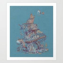 Adventurer Reef Art Print