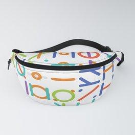 Geometric Colorful Art Pattern Fanny Pack
