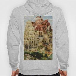 The Tower of Babel by Pieter Bruegel the Elder, 1563 Hoody
