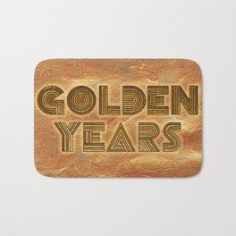 Golden Years - Gold Bath Mat