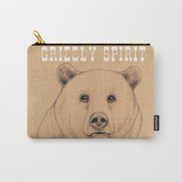 Grizzly Spirit Carry-All Pouch