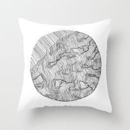 Vertigo Adrift (Vector) Throw Pillow