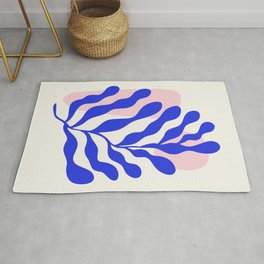 Blue Matisse Ferns Rug