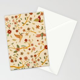 Tropical birds Stationery Cards