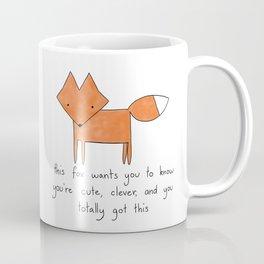 Enthusiastic Fox Coffee Mug
