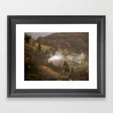 Difussion Framed Art Print