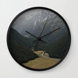 routeburn flats Wall Clock