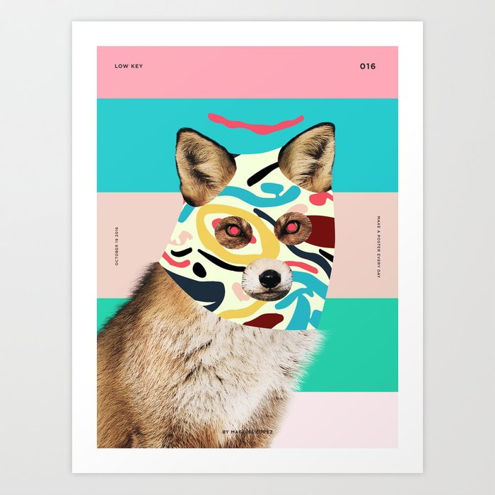 Low Key Art Print
