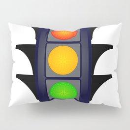 Hooded Traffic Lights Pillow Sham