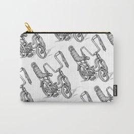 'Slicks R 4 Chicks' - Girls Mod Stingray Muscle Bike Cartoon Retro Bicycle Carry-All Pouch