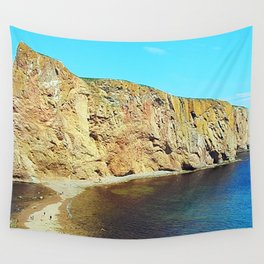 The Rock in the Sea Wall Tapestry