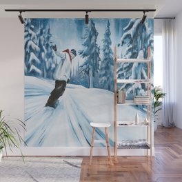 Dropping The Dream Forest Wall Mural