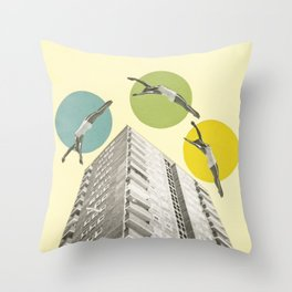 High Flyers Throw Pillow