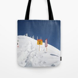 Signs Of Danger Tote Bag
