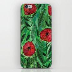 Zinnias iPhone & iPod Skin
