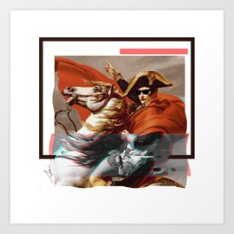 OG Napoleon Art Print