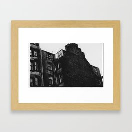 Glasgow Building  Framed Art Print