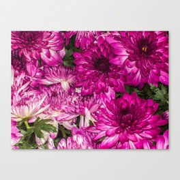 The Momma Flowers Taking Care Of Babies Canvas Print