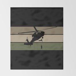 Air Assault Throw Blanket