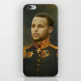 Steph Curry Classical Painting iPhone Skin