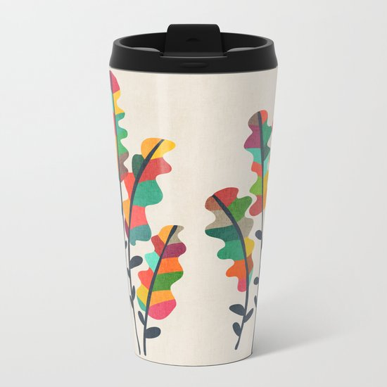 Flower from the meadow Metal Travel Mug