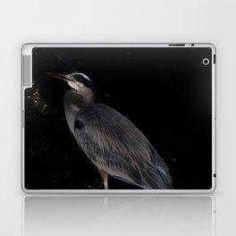 Heron at night Laptop & iPad Skin