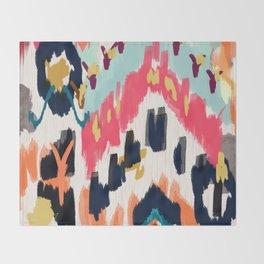 Bohemian Tribal Painting Throw Blanket