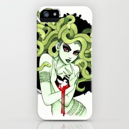 Medusa in Vignette iPhone Case