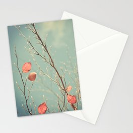 The Winter Days of Autumn Stationery Cards
