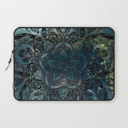 Flower mandala -night Laptop Sleeve