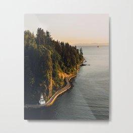 A Curvy Park - Vancouver, British Columbia, Canada Metal Print