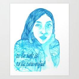 Female Creatives: Rupi Kaur Art Print