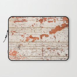 Abstract pattern of a orange brick Laptop Sleeve
