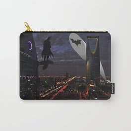 Bat man on Riyadh city Carry-All Pouch