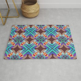 Mabon - Colorful Abstract Art Pattern Rug