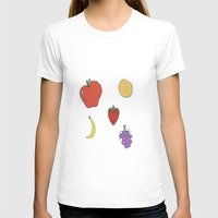 fruit T-shirts featuring Fruit by PandaBaby