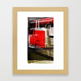 on the inside looking out 1 Framed Art Print