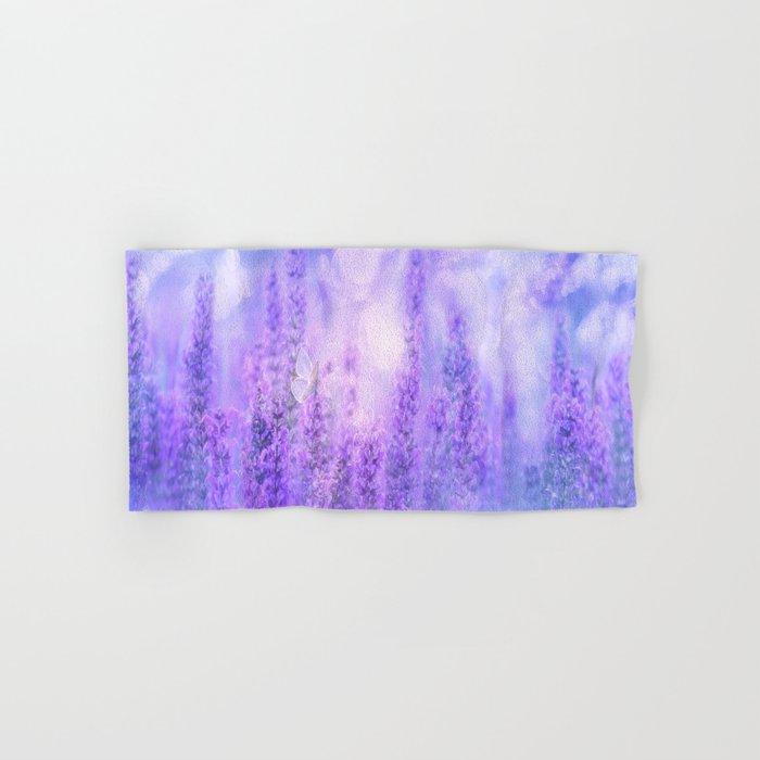 Lavender fields Hand & Bath Towel