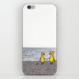 Lovebirds on the Beach iPhone Skin