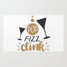 Pop Fizz Clink shirt Rug