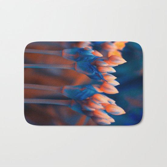 Floral abstract(4). Bath Mat
