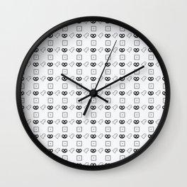 Snacks Wall Clock