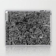 White/Black #3 Laptop & iPad Skin