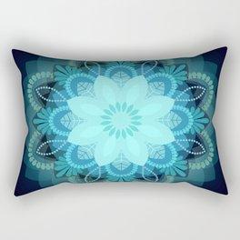 Beautiful Earth Mandala Rectangular Pillow