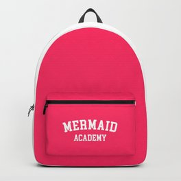 Mermaid Academy Cute Quote Backpack