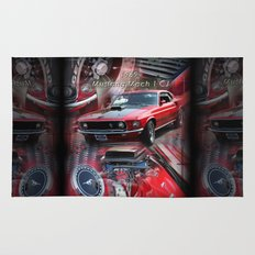 1969 Mustang Mach 1 CJ Rug