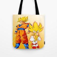 Super Sonic Warriors Z Tote Bag