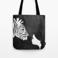 mirror Tote Bags featuring Mirror by Sylphing