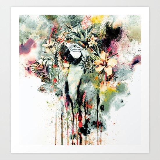 Interpretation of a dream - Parrot Art Print