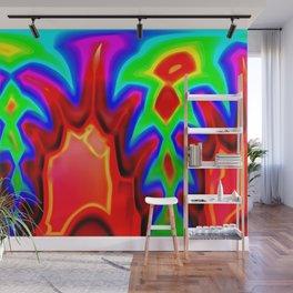 Bush fire ... Wall Mural